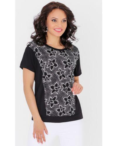 Блузка с цветочным принтом с жемчугом Dstrend