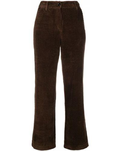 Прямые брюки с воротником на пуговицах Neul