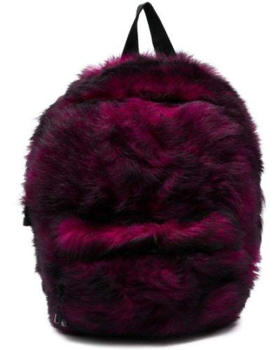 Różowy plecak z wiskozy Vetements