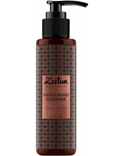Мягкий кожаный гель для умывания лица очищающий Zeitun