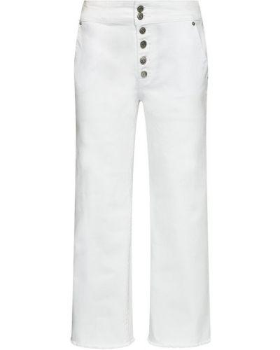 Białe jeansy Dkny
