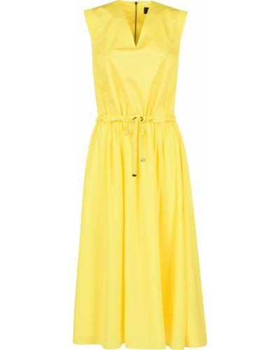 Хлопковое платье - желтое Bogner