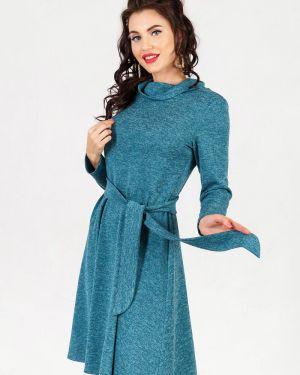 Платье с поясом из ангоры платье-сарафан Taiga