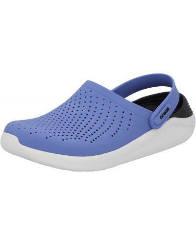 Синие спортивные сабо Crocs