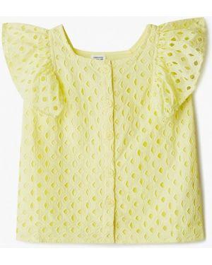 Желтая блузка Code