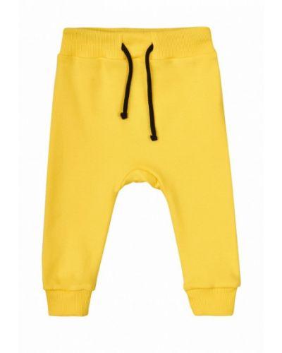 Желтые брюки спортивные Garnamama
