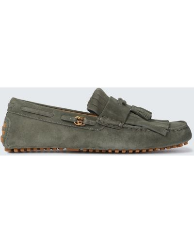 Loafers skorzane Gucci