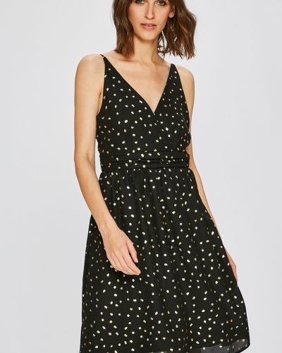 Платье мини с запахом на бретелях Vero Moda