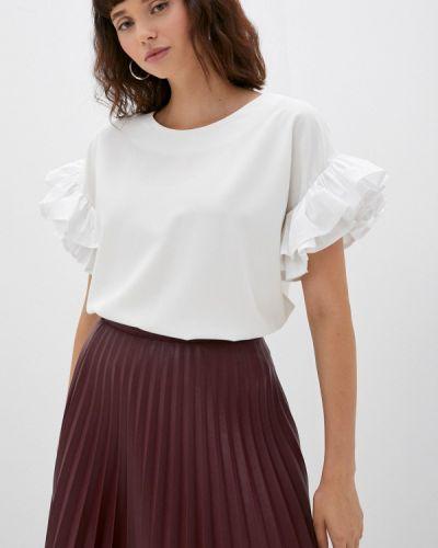 Белая блузка осенняя M,a,k You Are Beautiful