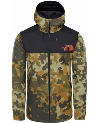 Куртка с капюшоном камуфляжная мембранная The North Face