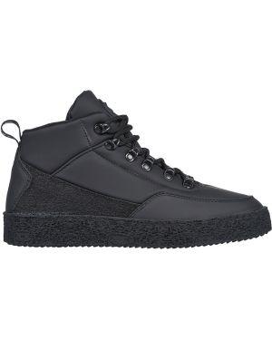 Кожаные кроссовки - черные Jog Dog