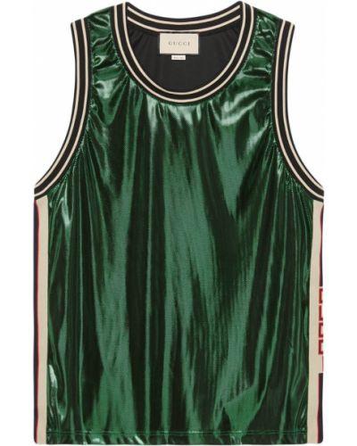 Топ зеленый винтажный Gucci
