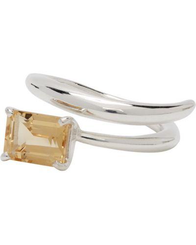 Серебряное открытое кольцо Faris