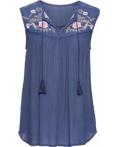 Блузка боди с вышивкой Bonprix