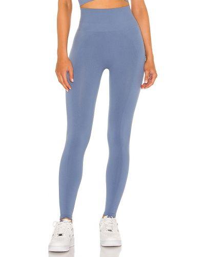 Niebieskie spodnie z nylonu Spiritual Gangster