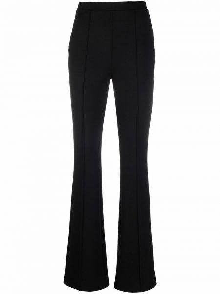 Czarne spodnie z wiskozy Edward Achour Paris