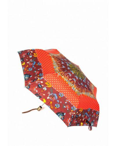 Красный зонт складной Pierre Cardin