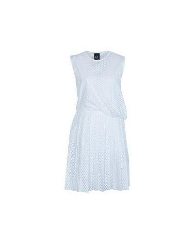 Белое платье Mcq