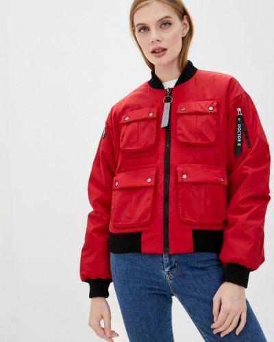 Теплая красная куртка Doctor E