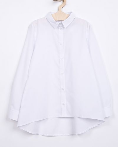 Блуза расклешенный белая Sly