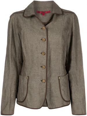 Классический пиджак винтажный прямой Gianfranco Ferre Pre-owned