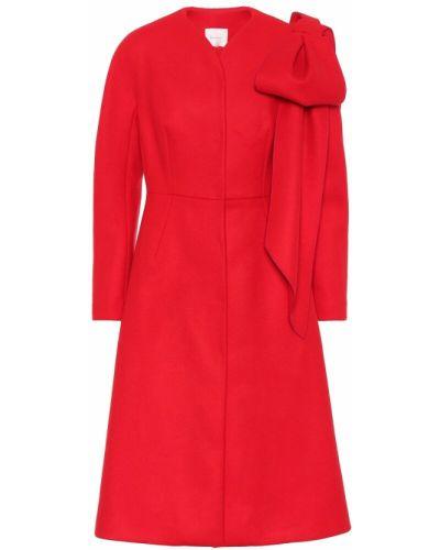 Шерстяное пальто Delpozo