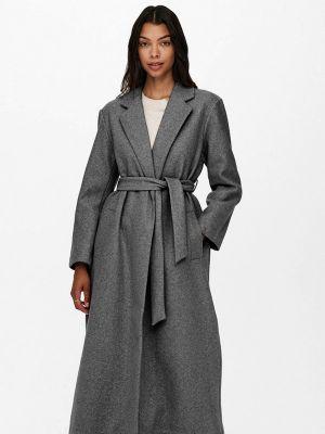 Пальто - серое Only