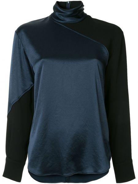 Блузка батник синяя Cedric Charlier