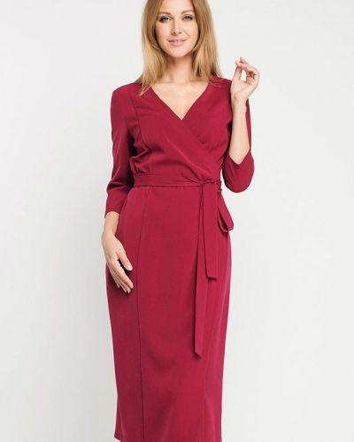 Красное платье с запахом Giulia Rossi
