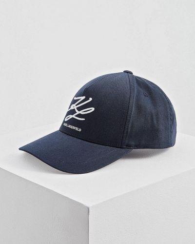 Бейсболка синий Karl Lagerfeld