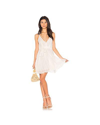 Платье с вышивкой на бретелях J.o.a.