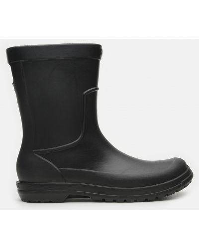 Черные сапоги Crocs