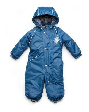 Комбинезон с карманами синий модный карапуз