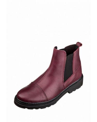 Кожаные ботинки осенние высокие Inblu