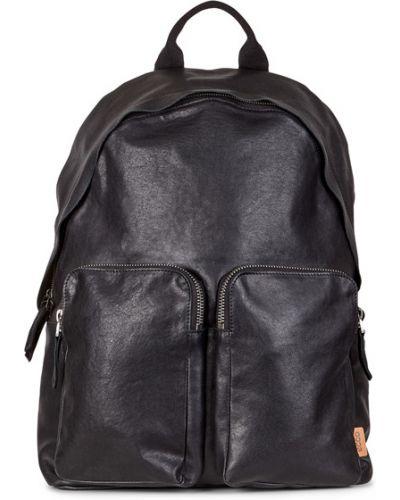 Рюкзак черный кожаный Ecco