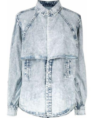 Джинсовая рубашка с карманами с длинным рукавом Toga Pulla