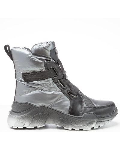 Серые ботинки Vensi