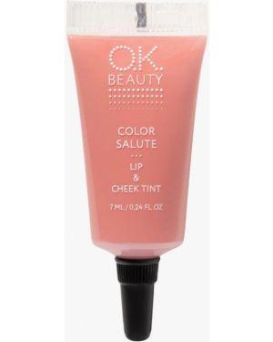 Тинт для губ розовый Ok Beauty