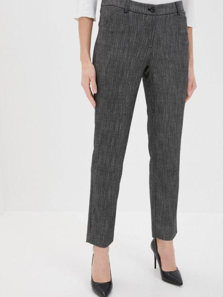 Классические серые классические брюки Taifun