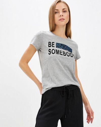 Серая футболка 2019 Vero Moda