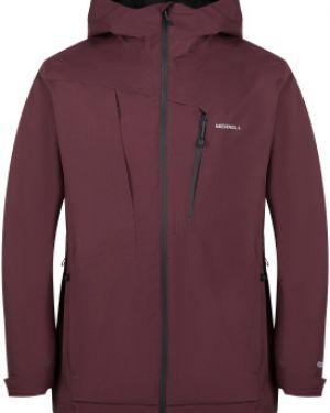 Спортивная прямая куртка с капюшоном мембранная на молнии Merrell