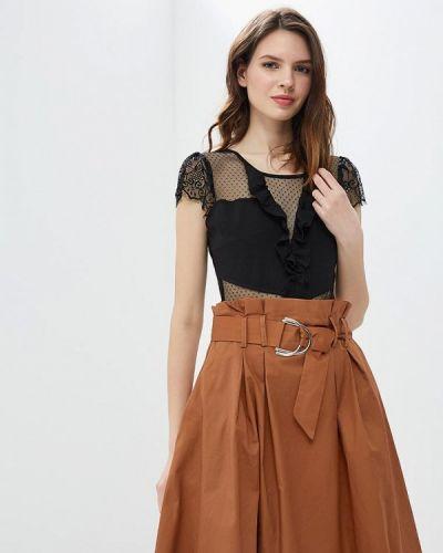 Черное боди блуза Moni&co