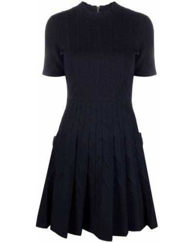 Платье мини короткое - синее Maje