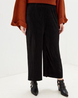 Свободные брюки расклешенные черные Brave Soul