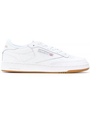 Кожаные кроссовки белый Reebok