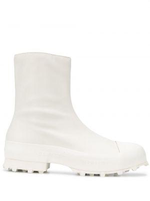 Białe ankle boots skorzane Camperlab