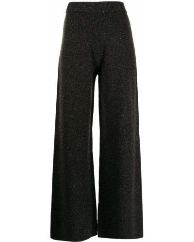 Черные брюки твидовые Joseph