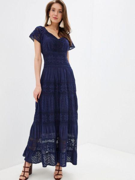 Платье прямое синее Fresh Cotton