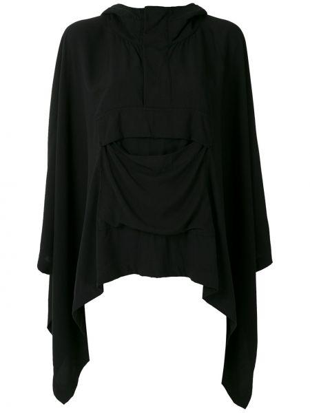 Куртка с капюшоном - черная Uma   Raquel Davidowicz