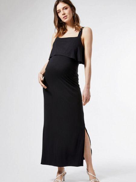 Платье для беременных повседневное черное Dorothy Perkins Maternity